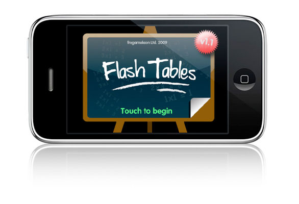 Flash Tables – Times Tables iPhone App Review