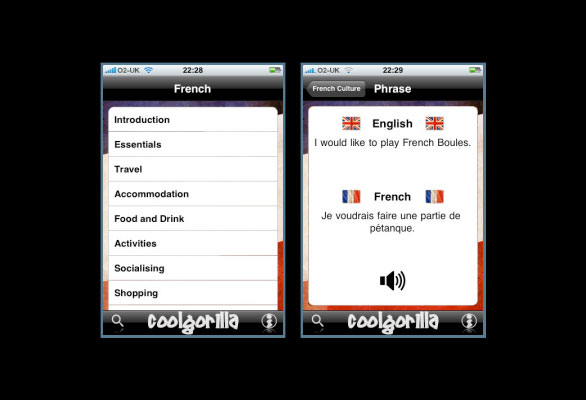 Talking Phrase Book iPhone App Review