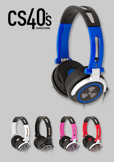 iFrogz EarPollution CS40 Headphones