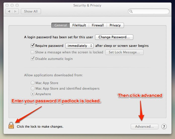 Mac OS X Security Privacy