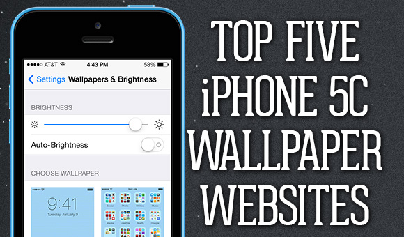 Top Five IPhone 5C Wallpaper Websites
