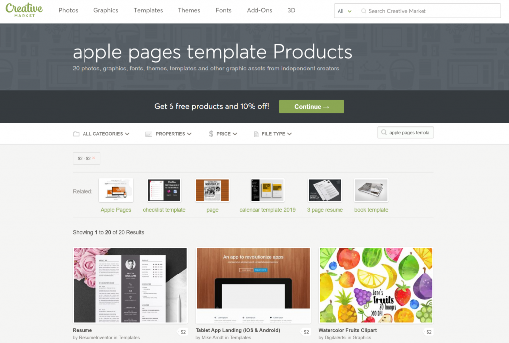 Apple pages template Photos Graphics Fonts Themes Templates Creative Market