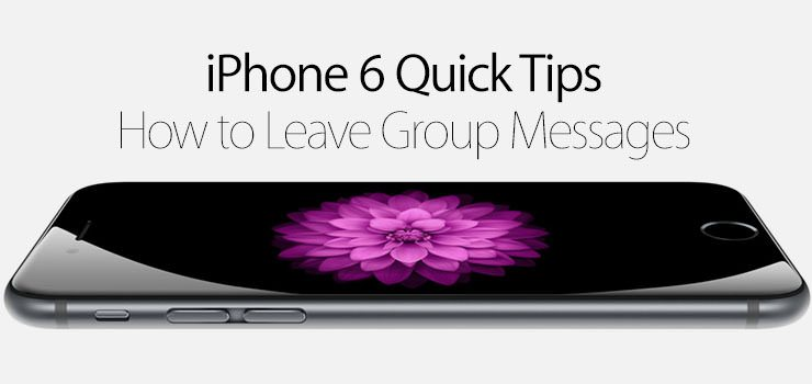 how to create a group on iphone 6