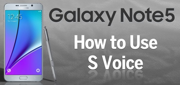 how to turn on s voice on note 5
