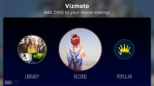 Vizmato for iPhone