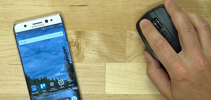 Use a Wireless Mouse with your Galaxy Note 7