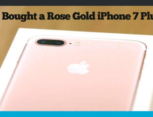 He Bought A Rose Gold iPhone 7 Plus