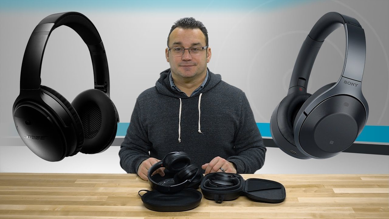 Bose QuietComfort 35 vs. Sony MDR1000X Headphones