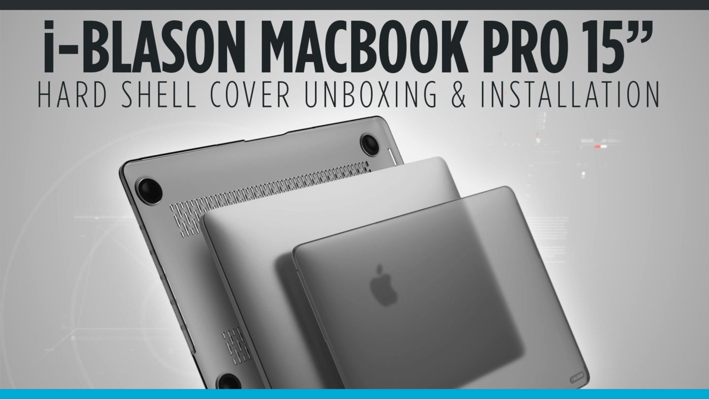 "i-Blason Macbook Pro 15"" Hard Shell Cover"