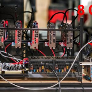 6 GPU Ethereum Mining Rig Upgrade to 8 GPUs Live Stream