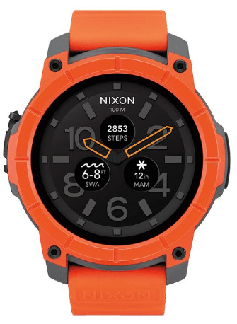 Nixon Mission Wear OS Smartwatch