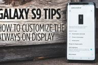 Samsung Galaxy S9 Tips - How to Customize the Always On Display
