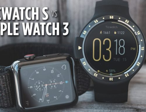 Ticwatch S vs Apple Watch 3