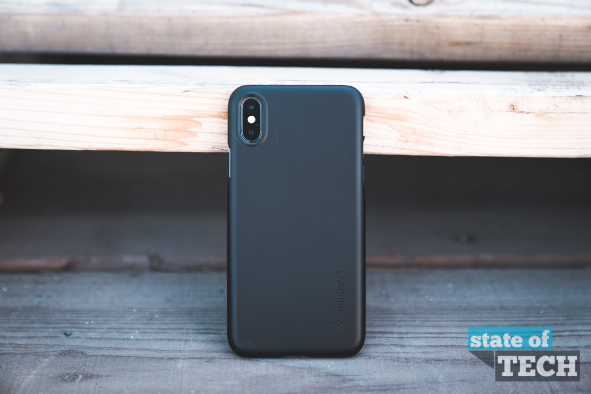Spigen Thin Fit iPhone X Case