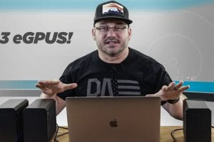 MacBook Pro Beats Ryzen Threadripper PC at Rendering Video In Pr