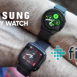 Samsung Galaxy Watch Active vs Fitbit Versa
