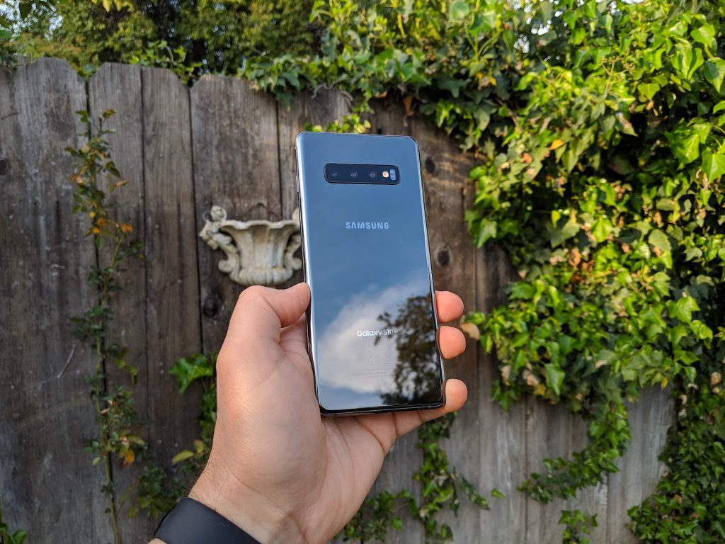 Samsung Galaxy S10+ Ceramic Black Finish
