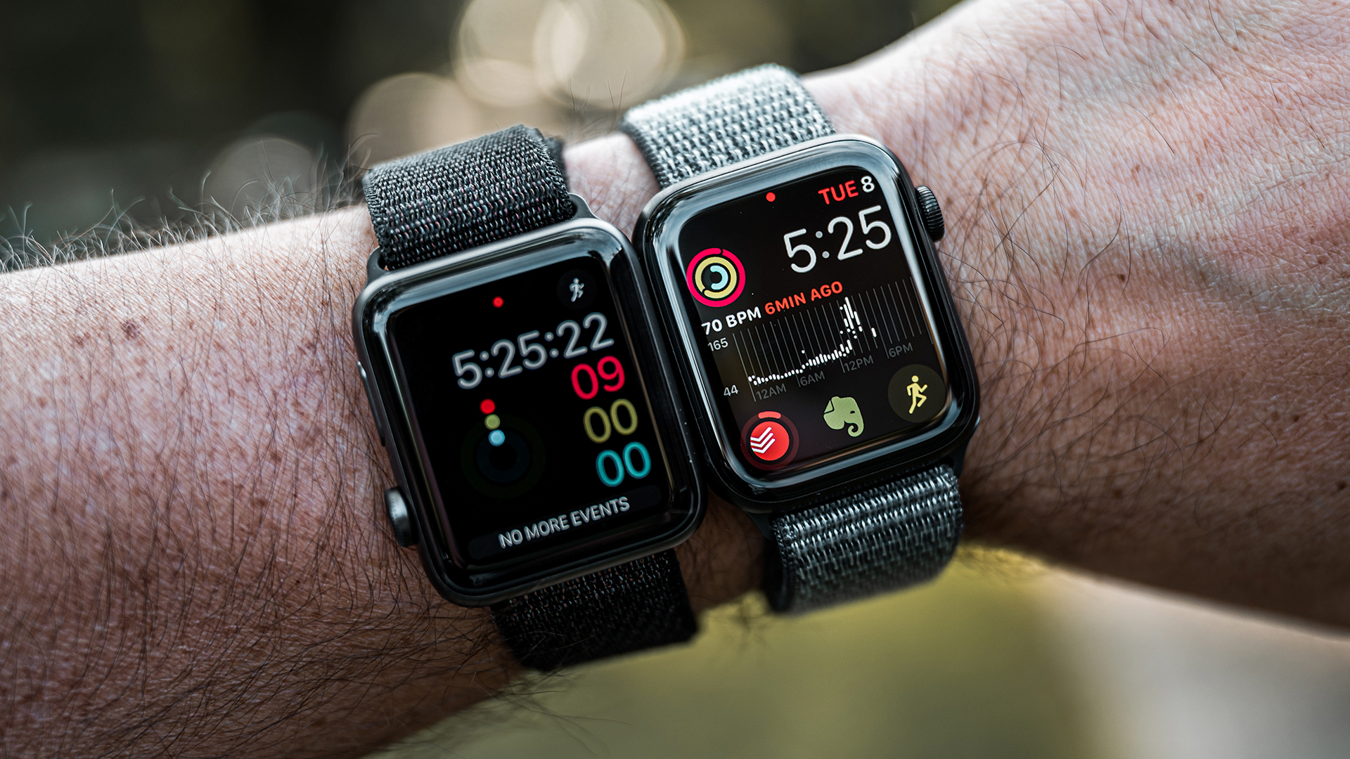 Apple Watch Series 3 vs Series 5