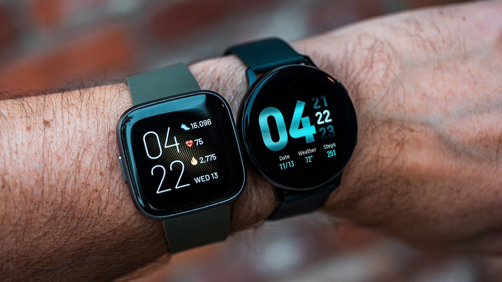 Samsung Watch Active 2 vs Fitbit Versa 2